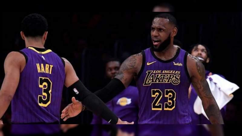Lebron James se convierte en el quinto anotador histórico de la NBA