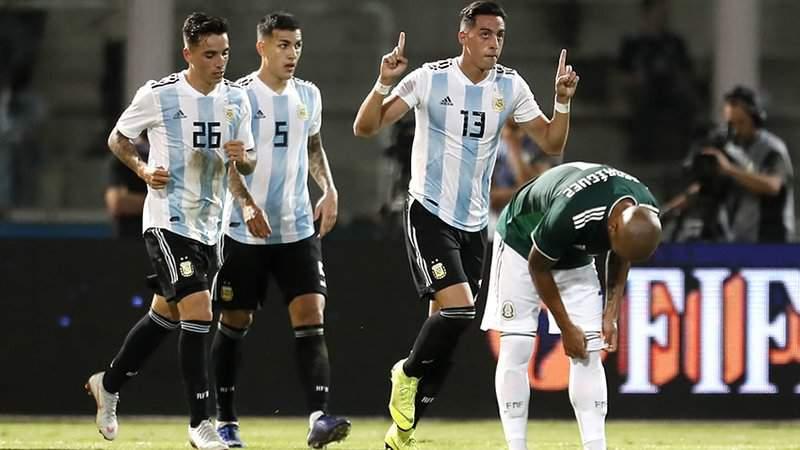 El Tri cae 2-0 ante Argentina