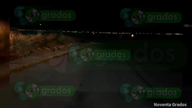 Maniatado y ejecutado, dejan cadáver en camino en Yuriria, Guanajuato