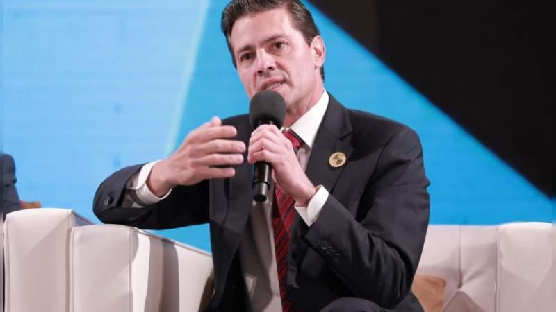 Peña Nieto aboga por los migrantes