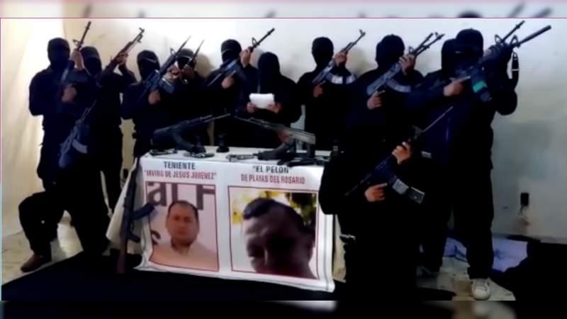 Grupo armado pide a AMLO y Gobernador electo investigar a funcionarios de Tabasco