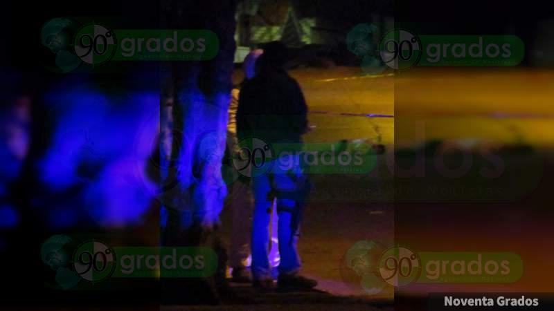 Asesinan a un hombre en el Centro de Jacona