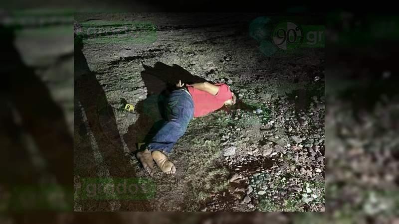 Era campesino el asesinado la noche del jueves en Apatzingán