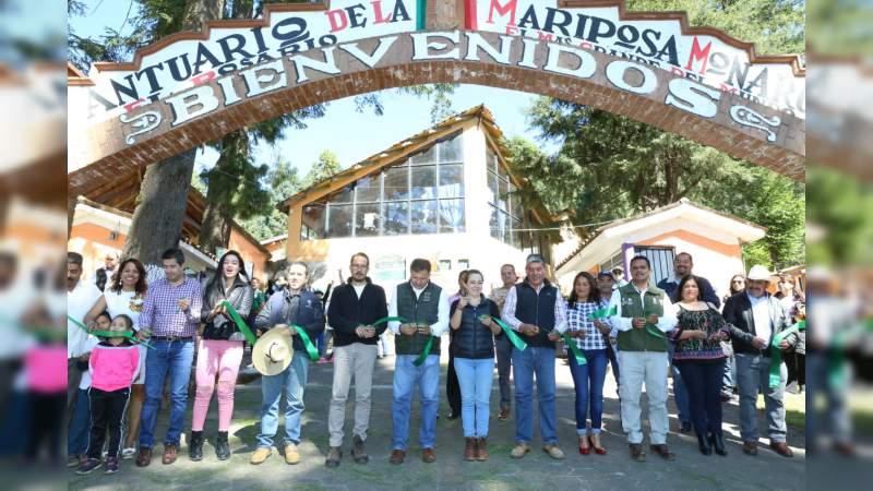 Santuarios de la Monarca abren sus puertas a turistas y paseantes