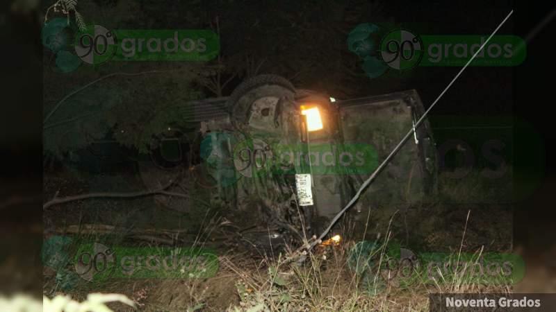 Guanajuato: Volcadura en Celaya deja un muerto