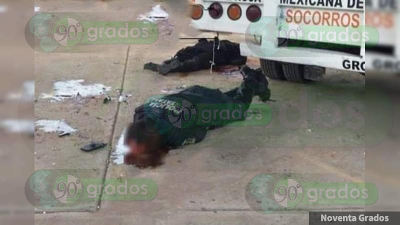 Tres policías y un paramédico muertos en ataque armado contra brigada de la Cruz Roja en Guerrero