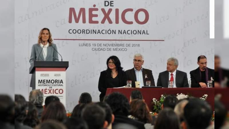 Esposa de López Obrador presidirá institución de Memoria Histórica