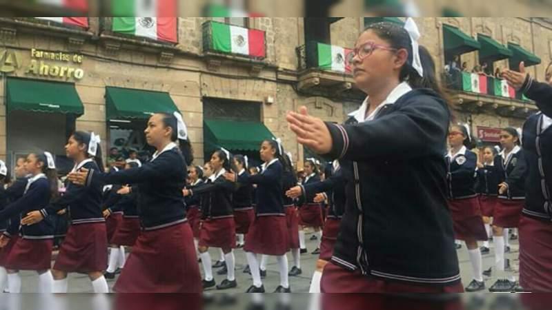 Todos los detalles del desfile del 20 de noviembre en Morelia