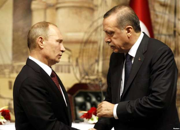 Propone mandatario turco a Vladimir Putin, reunirse el 30 de noviembre