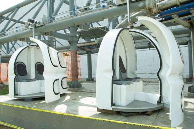 Prototipo de funicular para el DF tiene avance del 97 por ciento