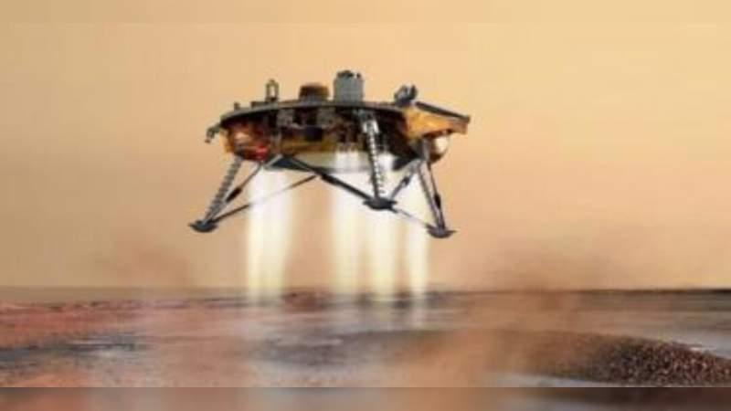 Sonda InSight aterriza exitosamente en Marte