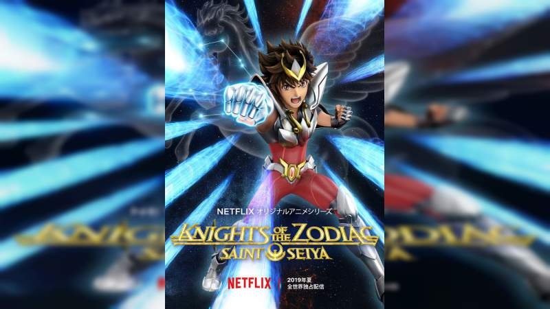 Netflix anuncia nueva serie de Los Caballeros del Zodiaco