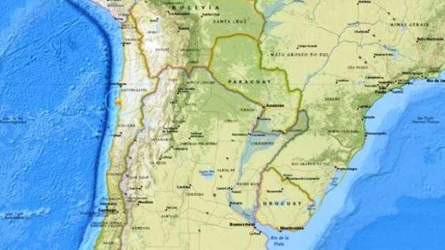 Sismo de 6.2 grados se registra en Chile
