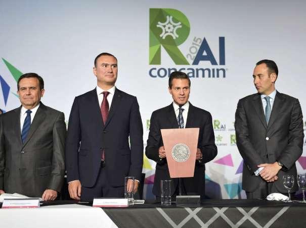 México está destinado a ser una nación imparable, destaca Enrique Peña Nieto