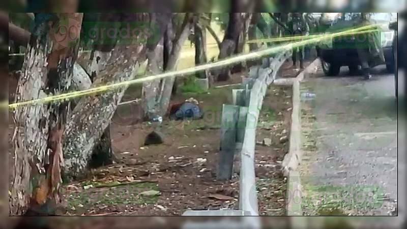 Localizan cadáver baleado y maniatado en Apaseo el Grande, Guanajuato