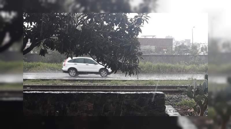 Estamos atentos ante posible contingencia por lluvia: PC Morelia