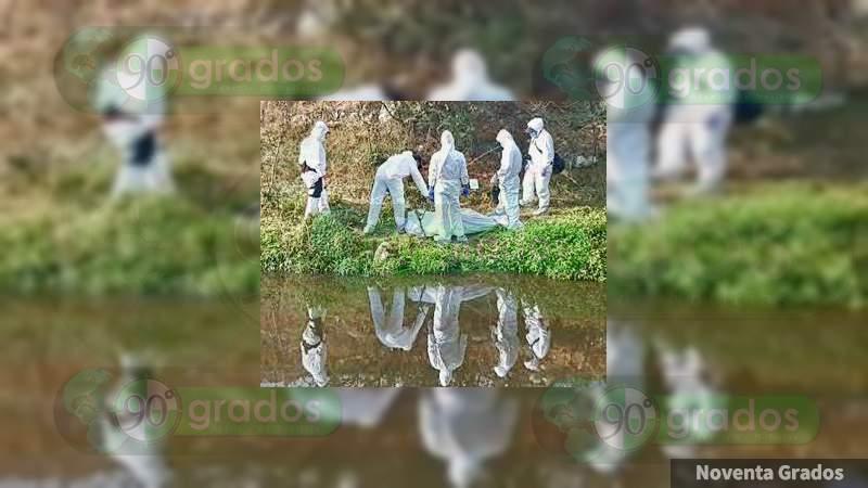 Hallan cadáver en el río grande de Morelia