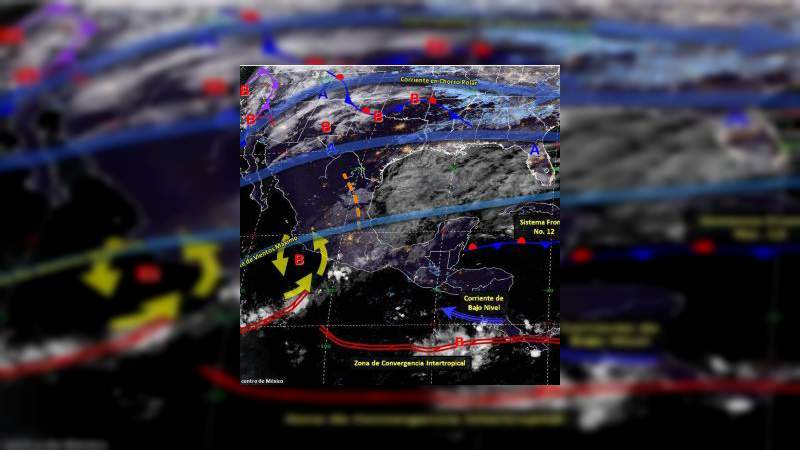 Prevén tormentas en 27 estados del país