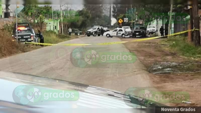 Ataque armado deja un muerto y un herido grave en Celaya, Guanajuato