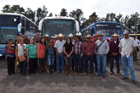 Productores morelianos visitan la Expo AgroAlimentaria 2015