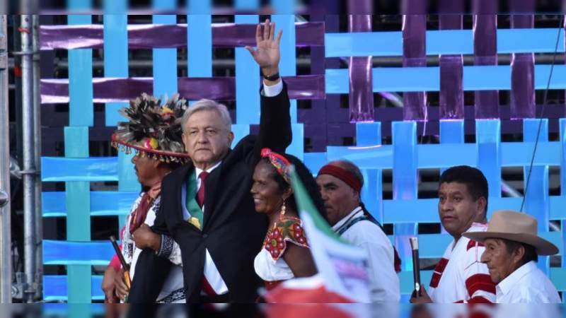 El México profundo le pide al presidente López Obrador 'mandar obedeciendo'