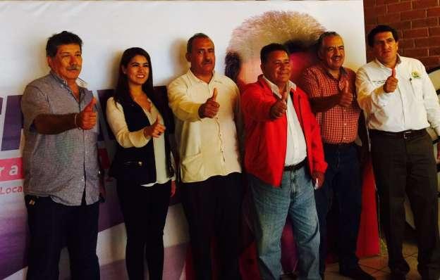 Profresores del magisterio se suman al proyecto político del PRI en Sahuayo e Hidalgo