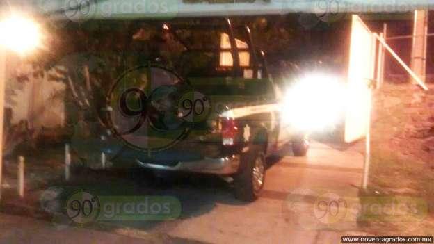 Rescatan a víctima de secuestro en Chilchota; hay tres detenidos