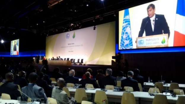 Inauguran cumbre del clima en París