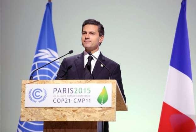 México impulsa iniciativa para fijar precio al carbono, reitera Peña Nieto