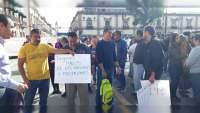 SNTE bloquea la avenida Madero en Morelia