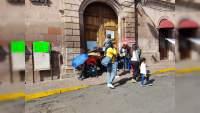 CECyTEM toma las oficinas del SAT en Morelia