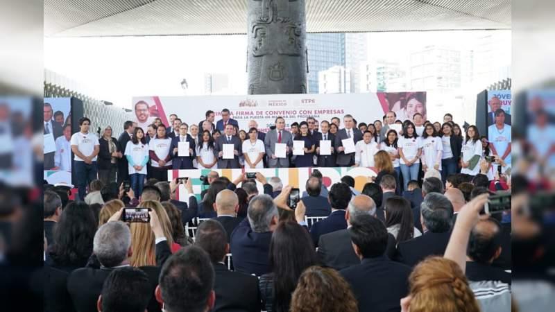 """Programa Jóvenes Construyendo el Futuro """"no es asistencialista"""", asegura Subsecretario de Empleo"""