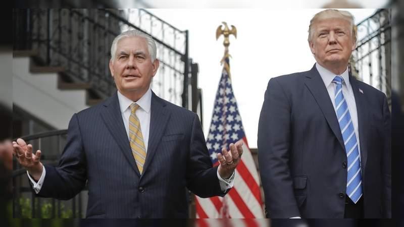 """Trump llamó """"tonto como una roca"""" a su exsecretario de Estado"""