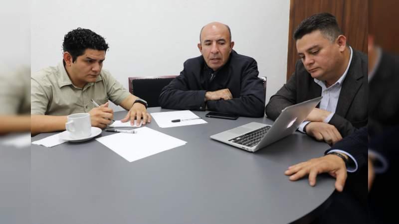 Frutis Solís y Antonio Madriz se reúnen para mejorar la educación en Michoacán