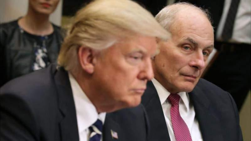 Trump despide a su Jefe de Gabinete