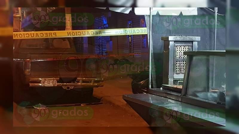 Asesinan a un joven de 19 años en Jacona