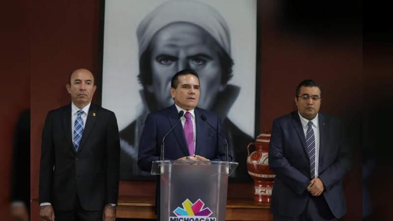 Acuerdan Gobierno de Michoacán y SEP cumplir pago a magisterio