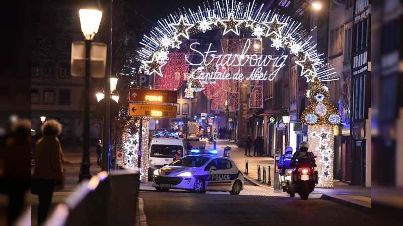 Atentado terrorista en Estrasburgo, Francia, deja cuatro muertos y nueve heridos