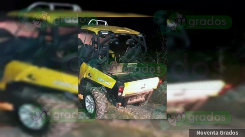 Detienen a sujeto con vehículo robado en Zacapu, Michoacán