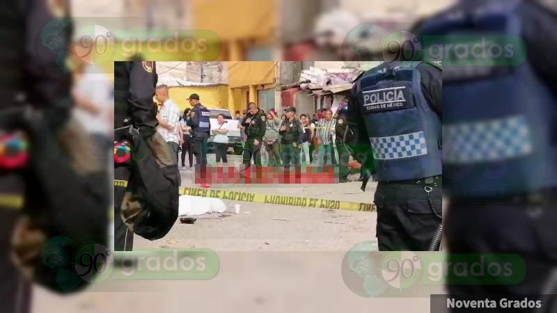 Abate Policía a presunto ladrón en Álvaro Obregón, Ciudad de México
