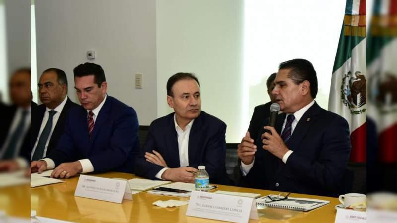 Coordinación en seguridad, estratégica para consolidar resultados: Silvano Aureoles