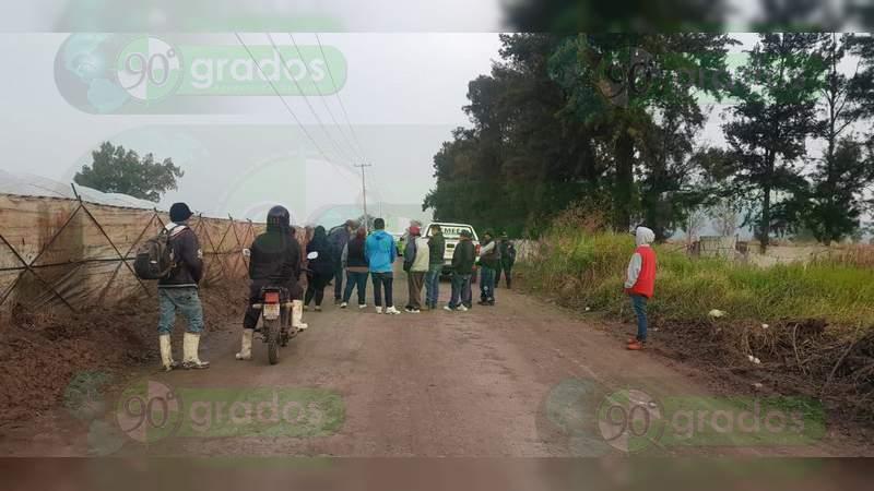 Localizan el cadáver baleado y maniatado de un veinteañero, en Zamora