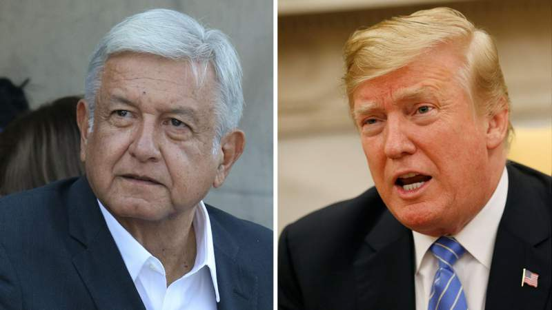 López Obrador y Trump sostienen conversación sobre el tema de la migración