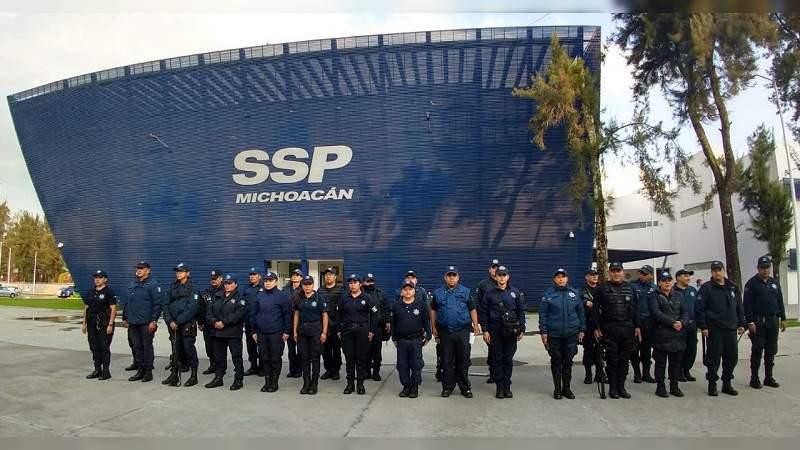 """Policías de Michoacán denuncian impago del bono """"tractor""""; amagan con manifestarse masivamente"""