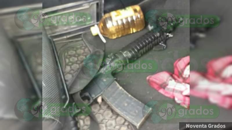 Policías abaten a dos pistoleros en Sahuayo