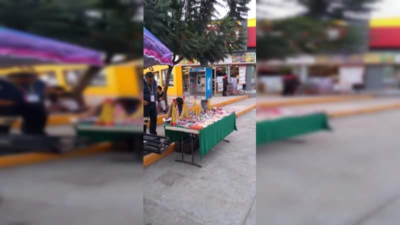En operativos coordinados, apoya Gobierno Municipal para inhibir la venta de pirotecnia