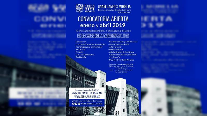 Próxima a abrir la Convocatoria de Ingreso 2019 a las licenciaturas de la UNAM