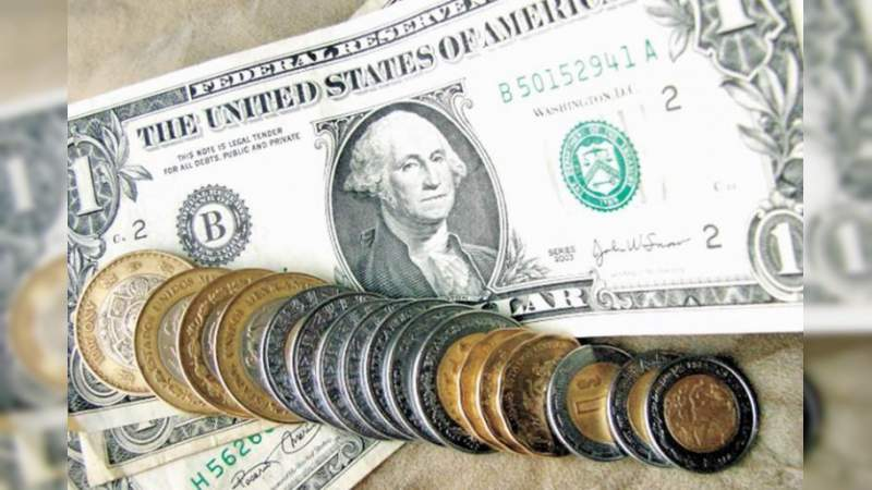 El dólar se vende a 20.66 pesos en bancos de la Ciudad de México