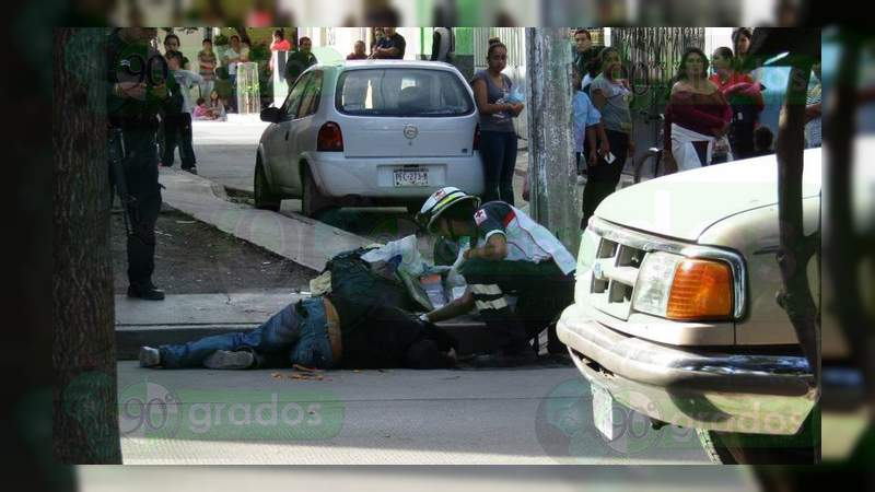 Balean a dos hombres en Zamora; hay un muerto y un herido