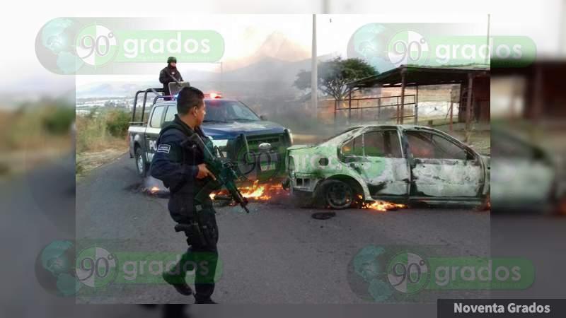 Rafaguean casa e incendian vehículo en Acapulco, Guerrero